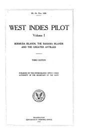West Indies Pilot: Volume 1