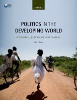 Politics in the Developing World PDF