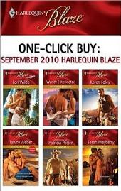 One-Click Buy: September 2010 Harlequin Blaze: Sweet Surrender\Her Private Treasure\Hot-Blooded\Riding the Waves\The Lawman\Hot Island Nights