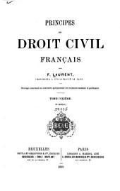Principes de droit civil français: Volume10