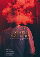 Death Matters PDF