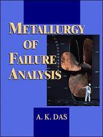 Metallurgy of Failure Analysis