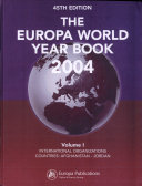 Europa World Year