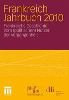 Frankreich Jahrbuch 2010 PDF