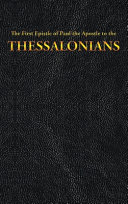 The First Epistle of Paul the Apostle to the THESSALONIANS