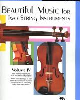 Beautiful Music for Two String Instruments PDF