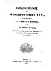 Rymwoordenboek der Nederduitsche tael, voorafgegaen van eene beknopte prosodia