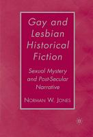 Gay and Lesbian Historical Fiction PDF