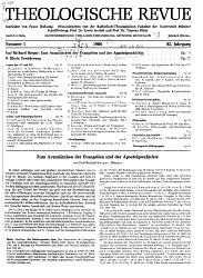 Theologische Revue PDF