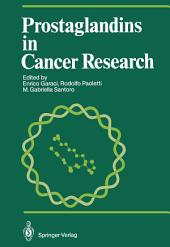 Prostaglandins in Cancer Research