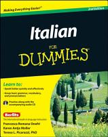 Italian For Dummies PDF