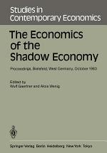 The Economics of the Shadow Economy