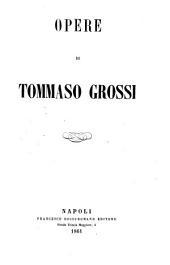 Opere di Tommaso Grossi