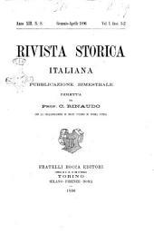 Rivista storica italiana: Volume 13