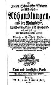 Der Konigl. Schwedischen akademie der wissenschaften Abhandlungen, aus der naturlehre, haushsltungskunst und mechanik: Bände 33-34