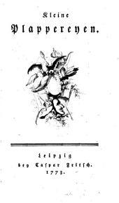 Kleine Plappereyen: Band 2