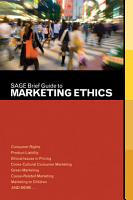 SAGE Brief Guide to Marketing Ethics PDF