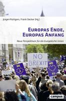 Europas Ende  Europas Anfang PDF