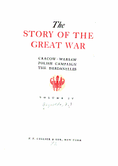 The story of the great war: with complete historical record of events to date, Volume 4