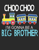 I M Gonna Be A Big Brother Book PDF