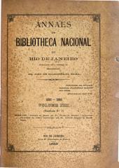 Annaes da Bibliotheca Nacional do Rio de Janeiro: Volume 13