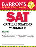 Barron s SAT Critical Reading Workbook PDF