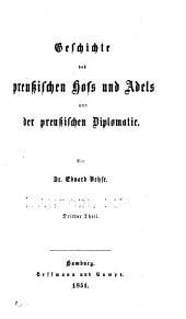 Geschichte der deutschen Höfe seit der Reformation: Bände 3-4