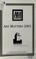 Art Matters PDF
