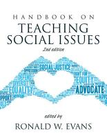 Handbook on Teaching Social Issues PDF
