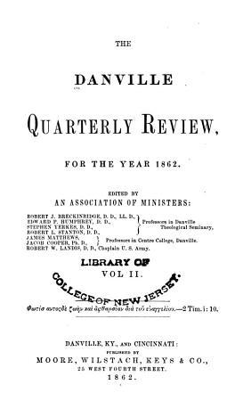 The Danville Quarterly Review PDF