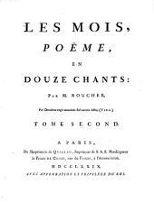 Les mois: poëme en douze chants, Volume2