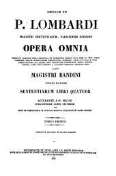 Patrologiae latina cursus completus ... series secunda: Volume 191