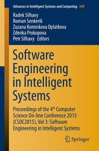 Software Engineering in Intelligent Systems PDF