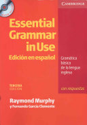 Essential Grammar in Use Spanish Edition with Answers and CD ROM PDF