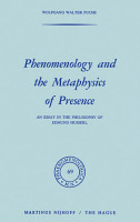 Phenomenology and the Metaphysics of Presence PDF