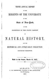 Annual Report of the Regents of the University on the Condition of the State Cabinet of Natural History, with Catalogues of the Same: Volumes 10-14