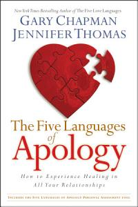 The Five Languages of Apology Book