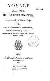 Voyage dans la vallée de Barcelonnette (Basses-Alpes)
