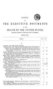Senate Documents, Otherwise Publ. as Public Documents and Executive Documents: 14th Congress, 1st Session-48th Congress, 2nd Session and Special Session, Volume 2