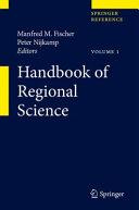 Handbook of Regional Science
