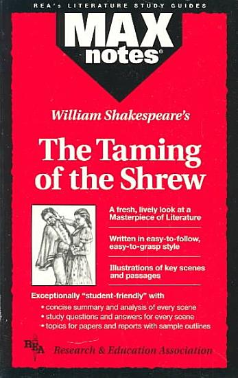 William Shakespeare s The Taming of the Shrew PDF