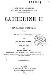 Catherine II et la Révolution Française