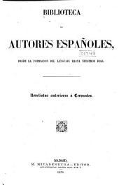 Biblioteca de autores españoles: Volumen 3