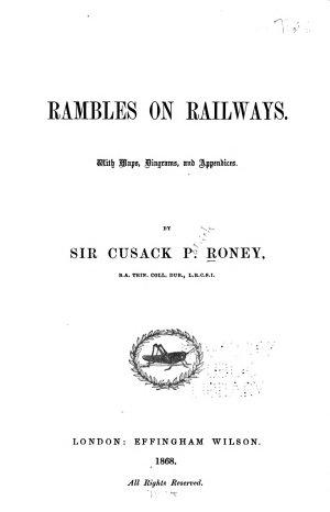 Rambles on Railways...