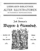 Jost Amman's Wappen & Stammbuch