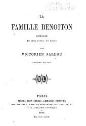 La famille Benoiton: comédie en cinq actes, en prose