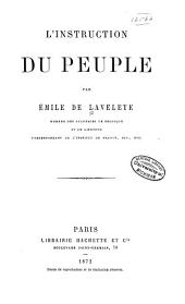 L'instruction du peuple