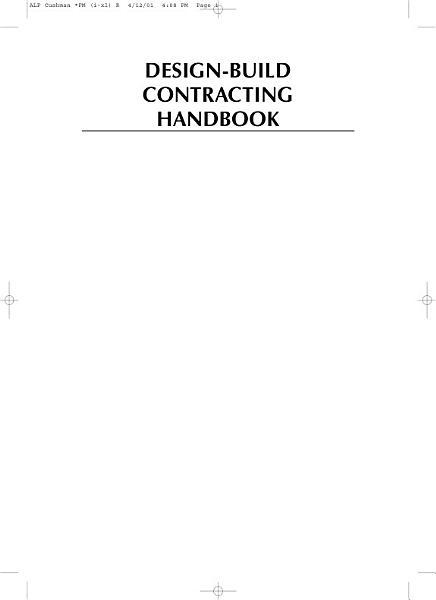Design build Contracting Handbook