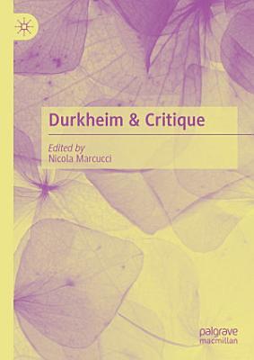 Durkheim   Critique