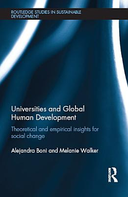 Universities and Global Human Development PDF